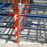 اسکلت فلزی برج 25 طبقه دریاچه چیتگر