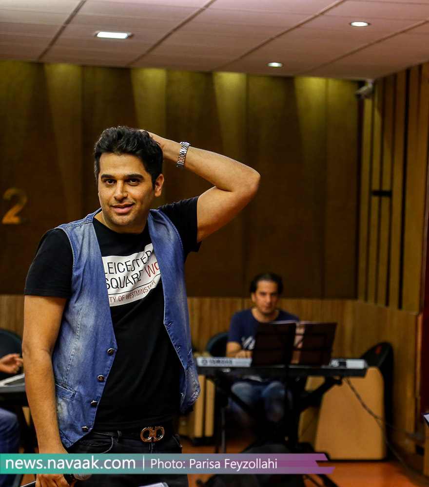 سری اول تصاویر تمرین کنسرت 22 مرداد حمید عسکری