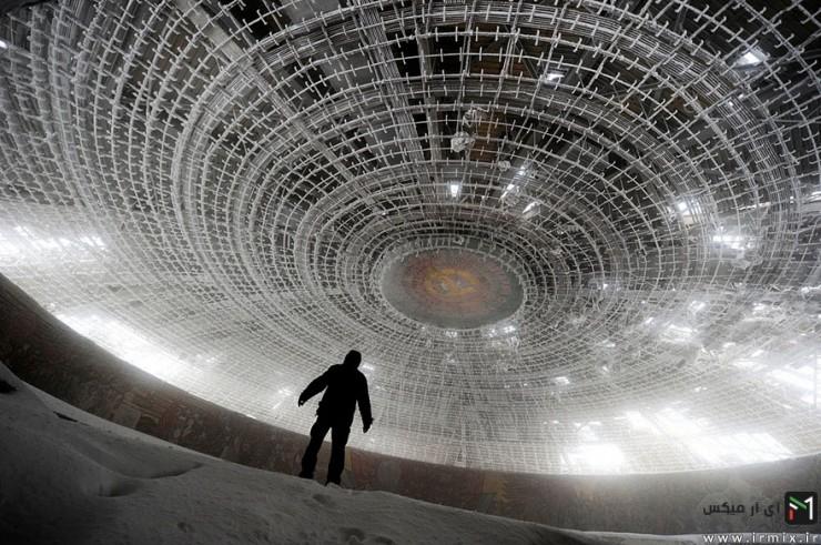سازه های متروکه و مرموز در جهان