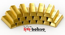 پیش بینی کاهش قیمت جهانی طلا به 1305 دلار در هر اونس
