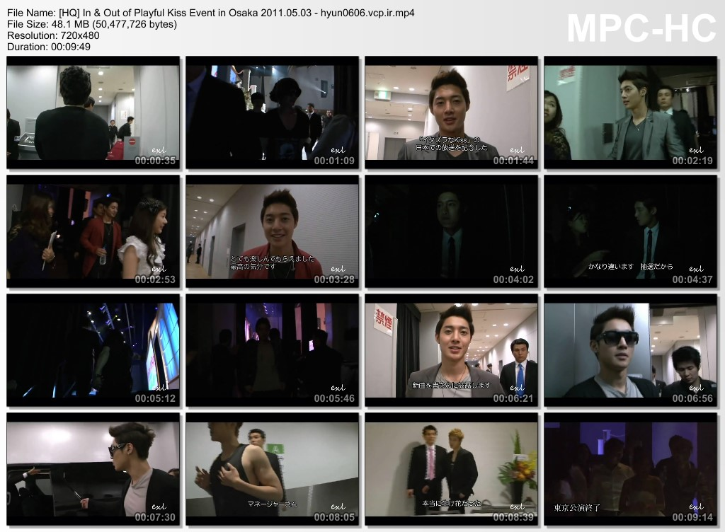 Seung Jo Collection - Fanmeeting - Kim Hyun Joong FM Making Film 2011