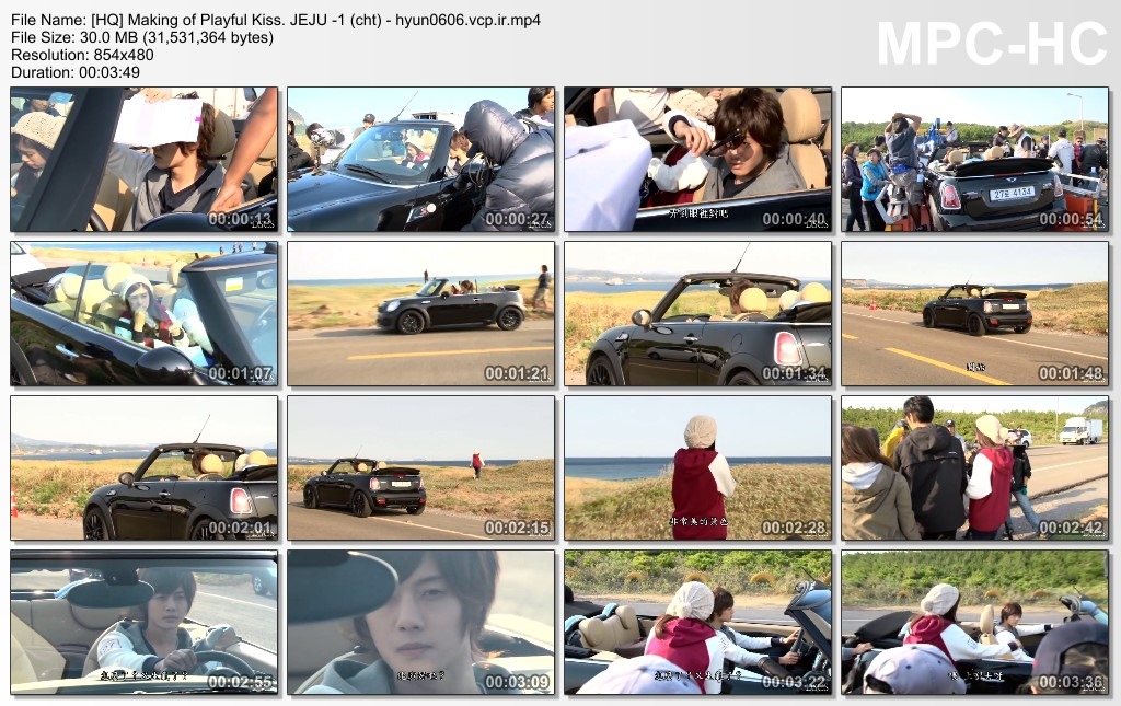 Seung Jo Collection - Making Film - Making of Play.ful Ki.ss