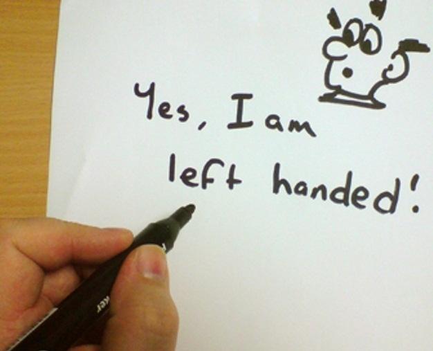 چرا برخی مردم چپ دستند؟