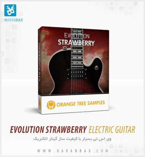 دانلود وی اس تی گیتار الکتریک Evolution Strawberry Electric Guitar