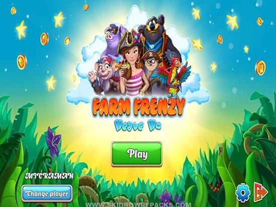 بازی Farm Frenzy Heaven Ho