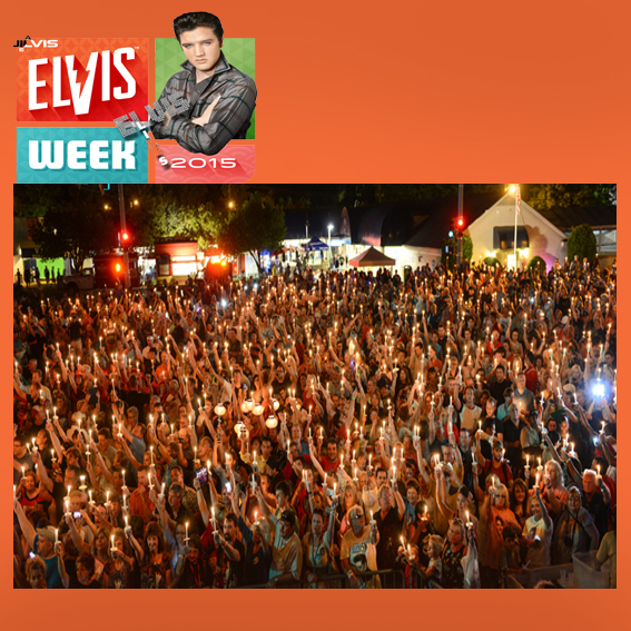 elvis candellight vigil 2015