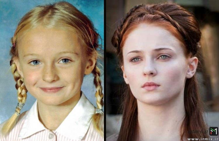 بازیگران سریال محبوب  Game of Thrones در جوانی