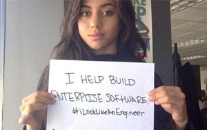 زنان مهندس، با یک کارزار مجازی کلیشههای جنسیتی را به چالش میکشند! (iLookLikeAnEngineer: engineers take to Twitter to dispel all-male myth )