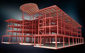دانلود پروژه طراحی ساختمان بتنی  چهارطبقه مسکونی