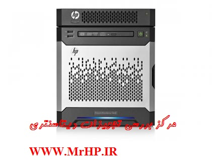 Entry Model HP ProLiant MicroServer Gen8 G1610T 1P 4GB-U B120i NHP SATA Server 819185-xx1