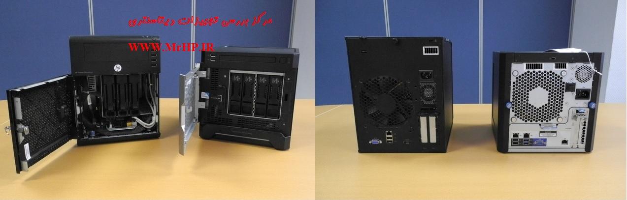 HP ProLiant MicroServer Gen8 E3-1220Lv2 1P 4GB-U B120i NHP SATA Server 819187-xx1