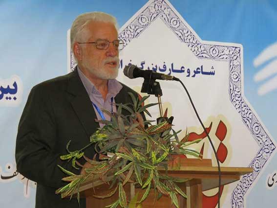 سخنرانی دکتر حسین محمدزاده صدیق در همایش قاسم انوار سرابی- تربت جام