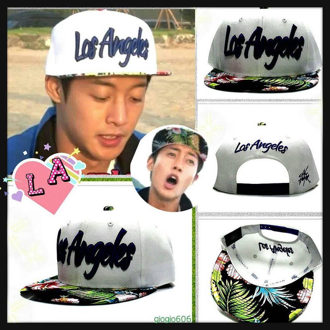 Sponsor - CF1660 Los Angeles Flower Snapback Cap