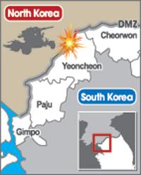 North Korea fires shells at South 15.08.21