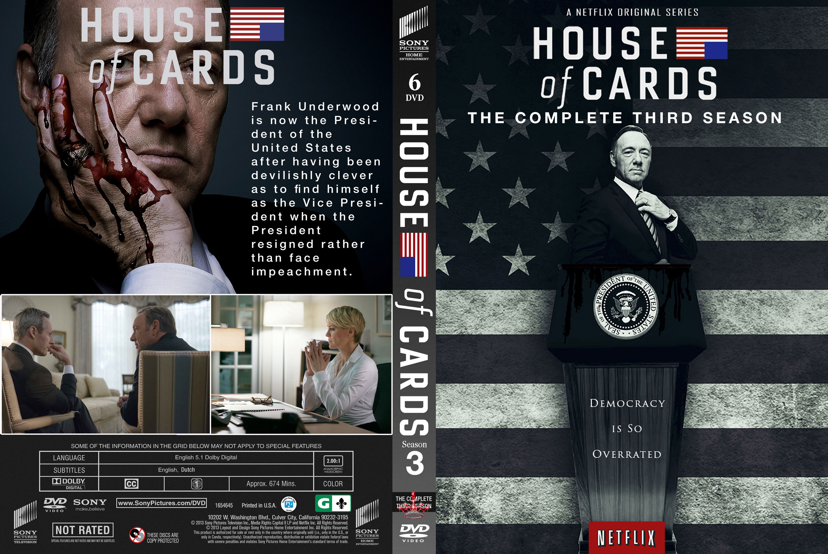 House of cards season 3 release date in Australia