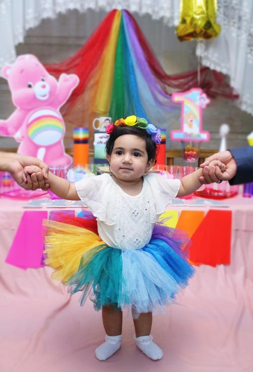 helma happy birthday rainbow 1 ranginkamooni tavalod one yek ieda dress baby