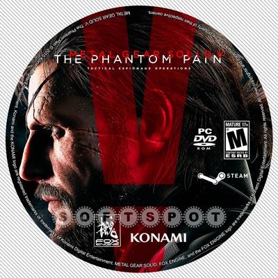 لیبلدیسک Metal Gear Solid V: The Phantom Pain