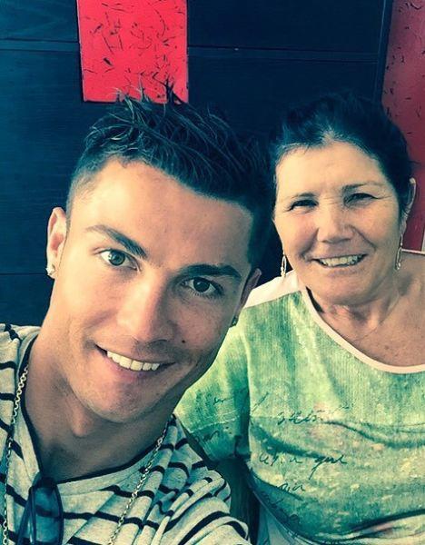 عکس سلفی کریس رونالدو و مادرش , چهره های معروف