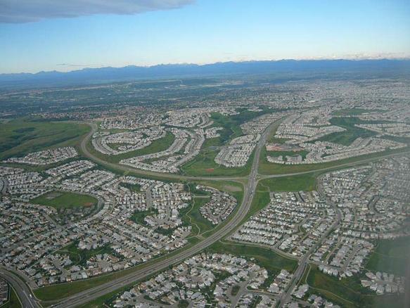 گسترش افقی شهر (Urban Sprawl)