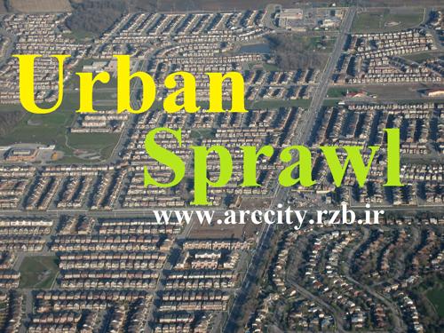 مقالات پراکنده رویی شهری ( Urban Sprawl )