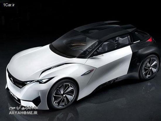 جدیدترین خودروی کانسپت پژو , اتومبیل ها