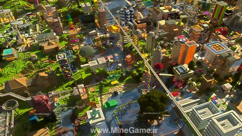 اسکرین شات هایی از شهر های ماین کرافت