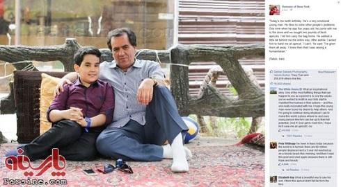 کامنت باراک اوباما برای پسربچه بخشنده ایرانی! + عکس , اخبار گوناگون