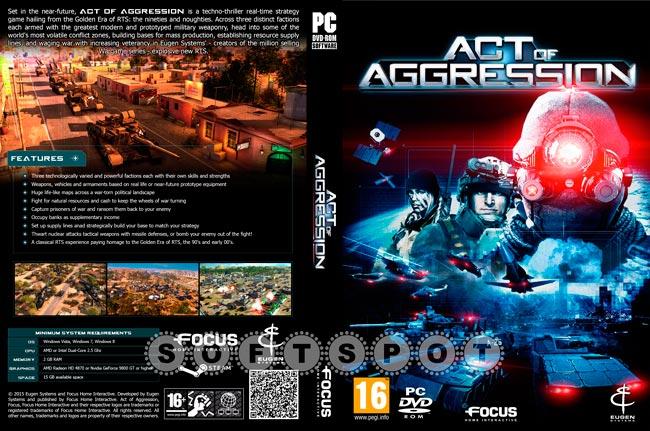 کاور بازی Act of Aggression