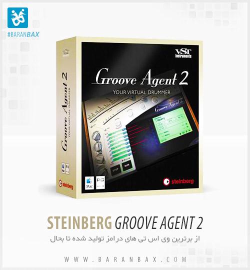 دانلود برترین درامز مجازی Steinberg Groove Agent 2
