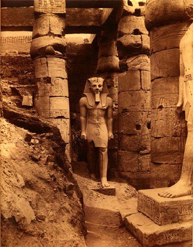 عكس نایاب از فرعون رامسس دوم
