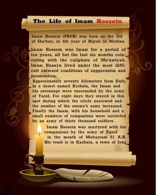 why imam Hussein?-ashura-muharram