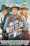 فيلم جديد A million ways to die in the west 2014