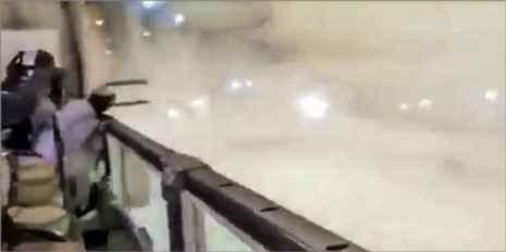 سقوط مرگبار جرثقیل در مسجد الحرام