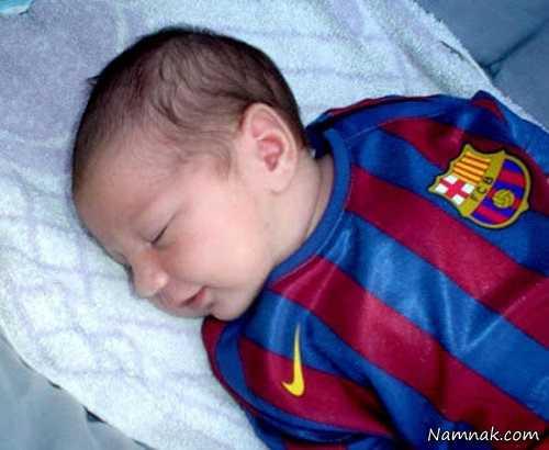 تصاویر پسر دوم مسی , اخبار ورزشی