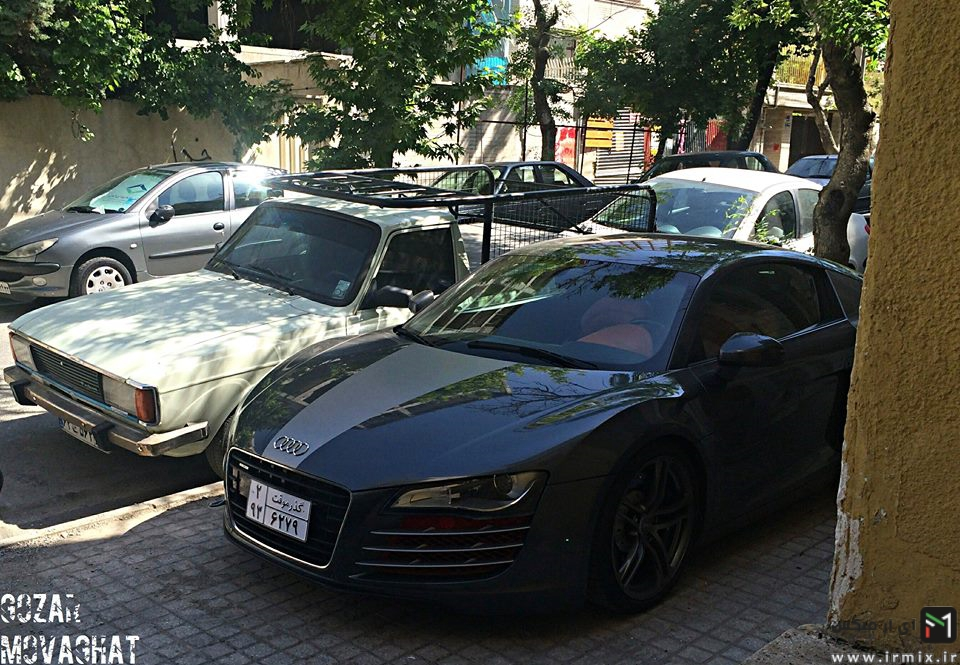 ماشین های سوپر اسپرت در ایران، ماشین های باحال در ایران