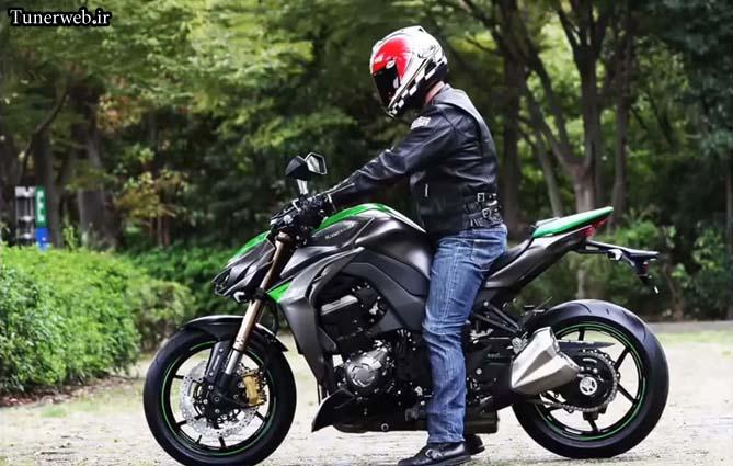 تصویری از موتور سیکلت Z1000