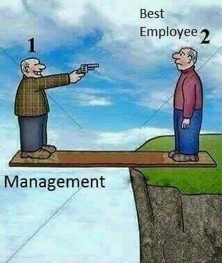 اشتباه یک مدیر