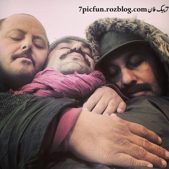 تصاویر جدید و دیده نشده از محسن تنابنده شهریور 94
