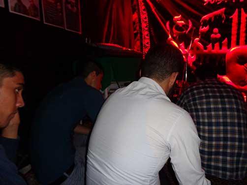 برگزاری مراسم معنوی هیئت فاطمیون در محل حسینیه شهید محمد علی دولت آبادی