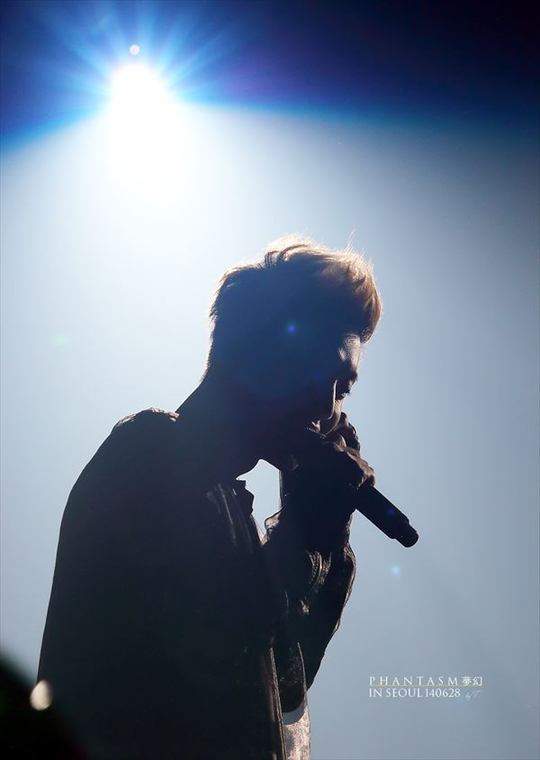 Hyun Joong Pic in Live Concert
