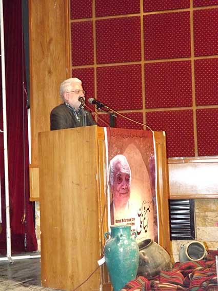 سخنرانی دکتر حسین محمدزاده صدیق در مراسم نکوداشت درویشعلی بهروان اینانلی