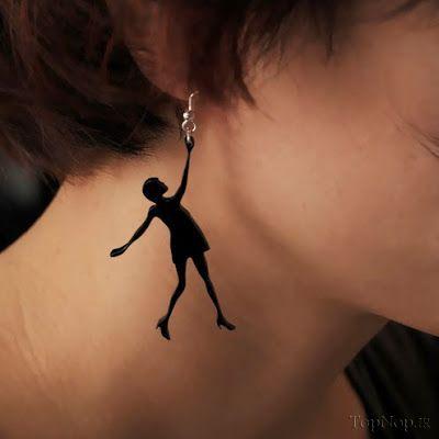 تصاویر جالب عجیب ترین گوشواره