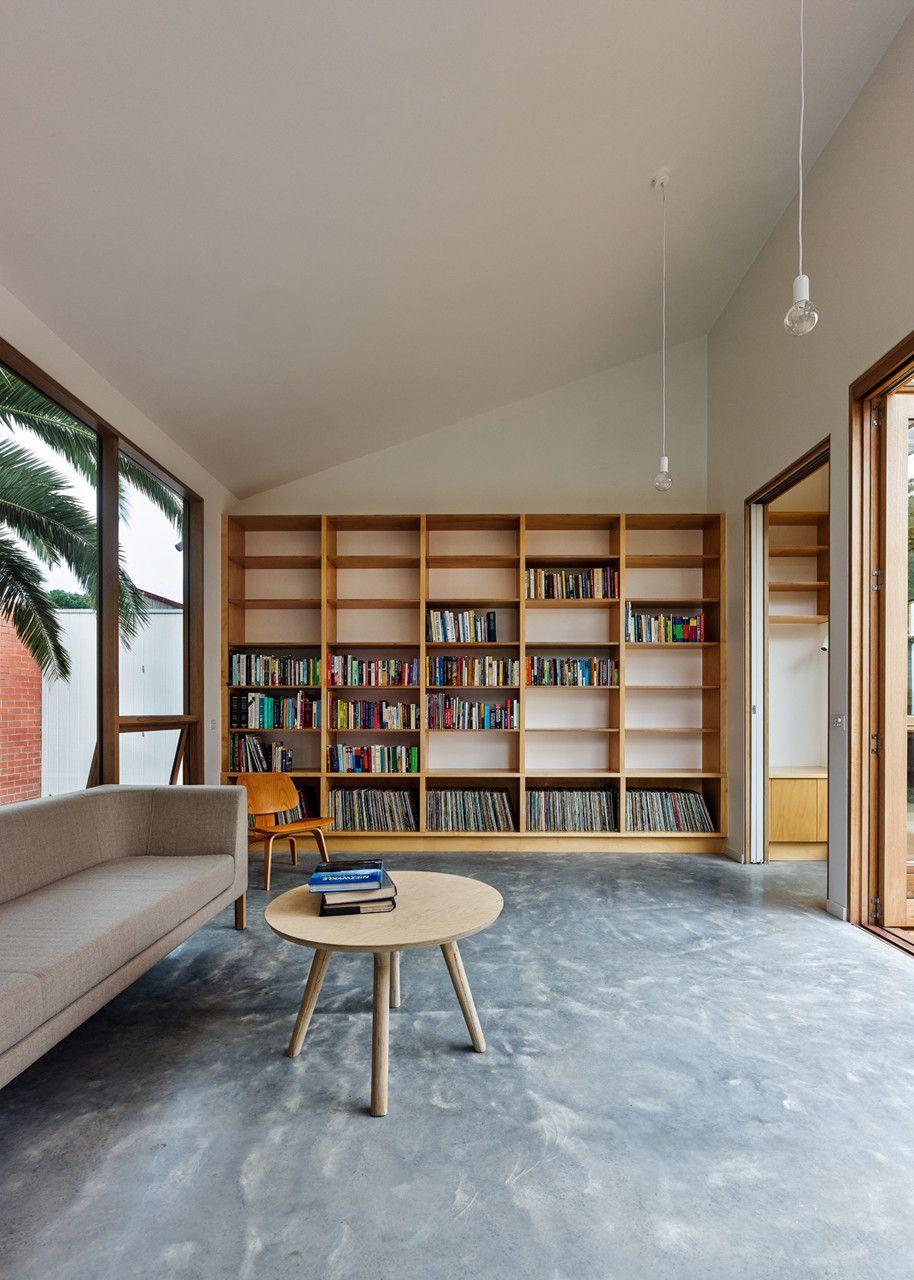 طراحی کتابخانه ی خانگی