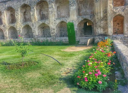 «باغ پریها» در کشمیر