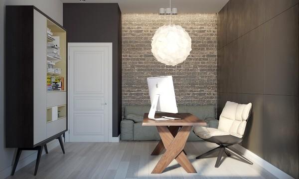 دکوراسیون داخلی 2 آپارتمان با رنگ های خنثی