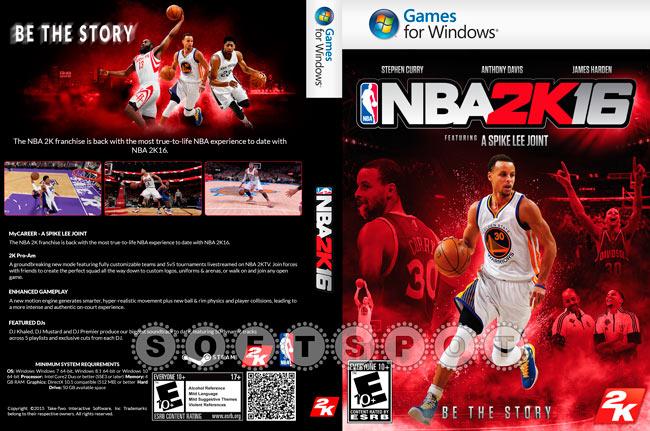 کاور بازی NBA 2K16