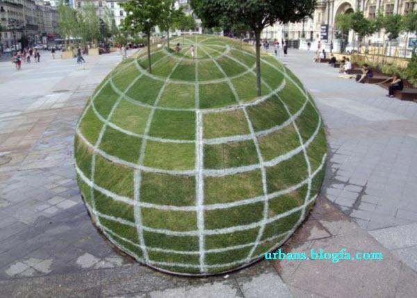 3d green park