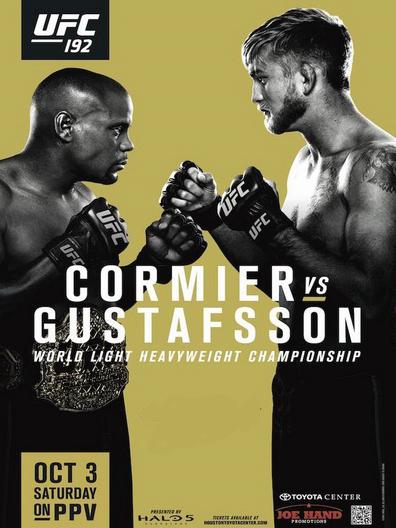 دانلود یو اف سی 192 | UFC 192: Cormier vs. Gustafsson