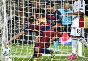پیروزی دشوار بارسا مقابل لورکوزن , اخبار ورزشی