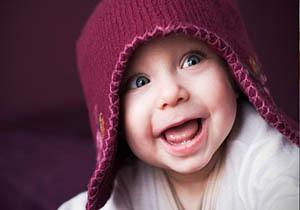 دانشمندان دلیل لبخند زدن نوزادان را کشف کردند